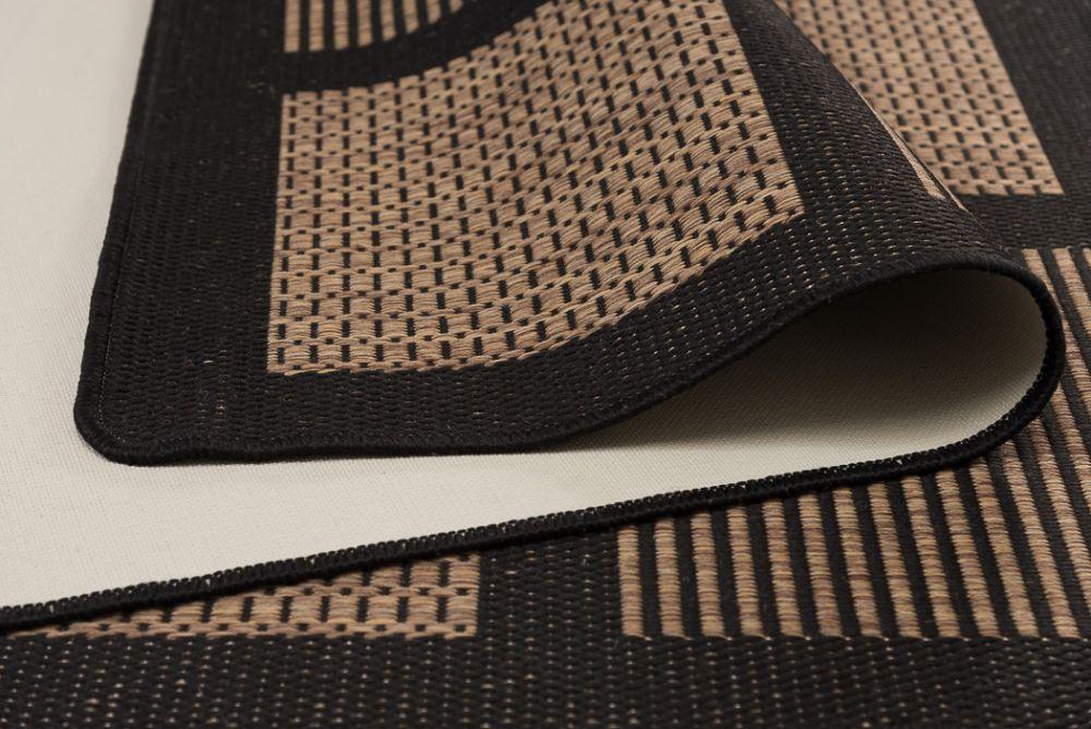 Brick Line Coffee/Black 160x230