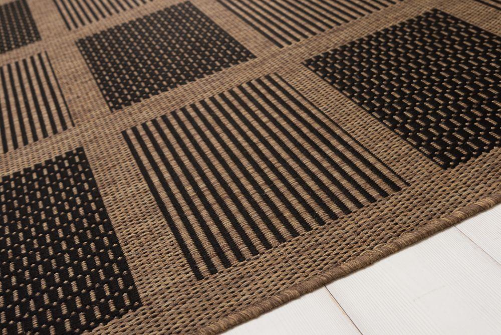 Brick Line Black/Coffee 133x195