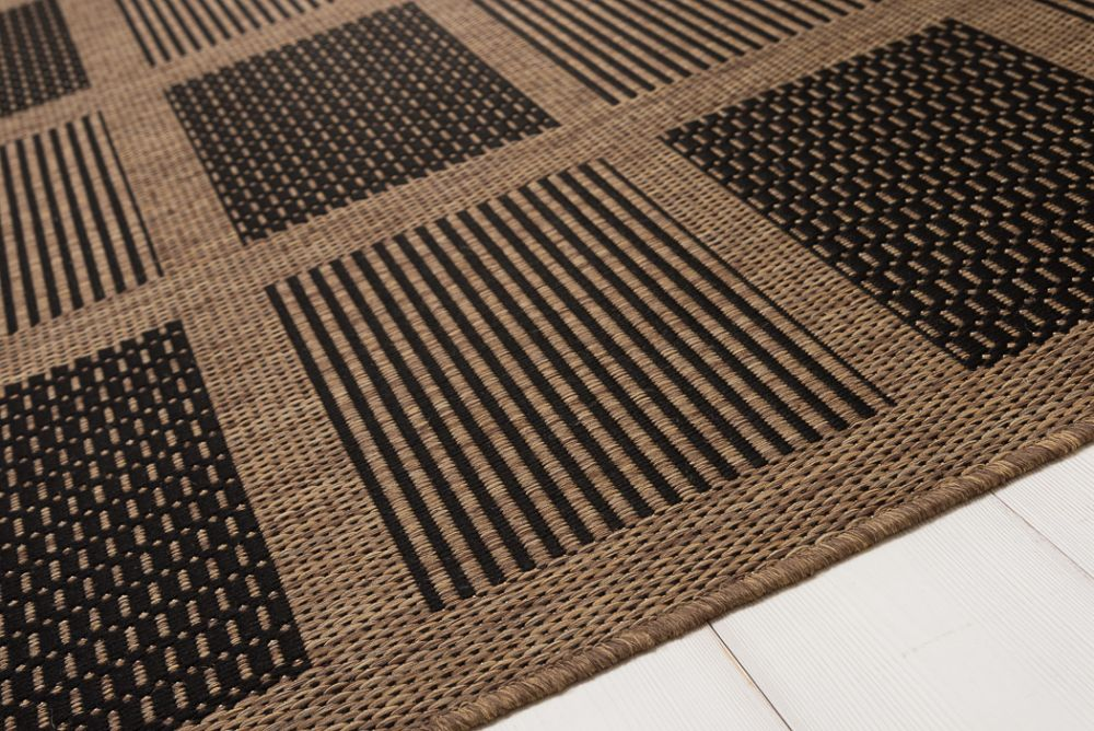 Brick Line Black/Coffee 80x300