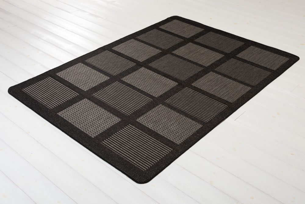 Brick Line Grey/Black 160x230