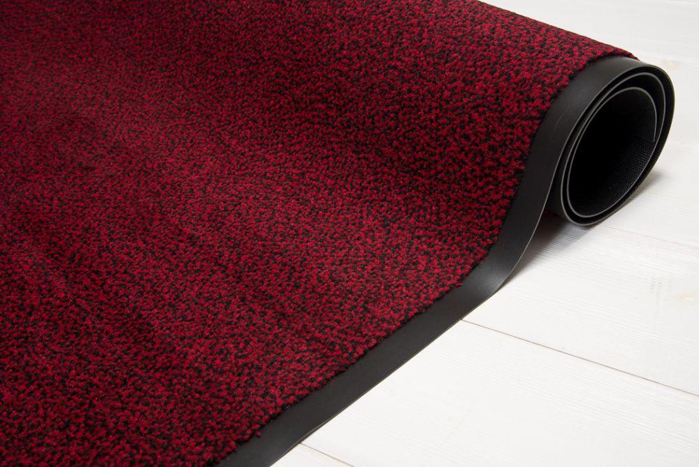 Clean rød/sort 60x90