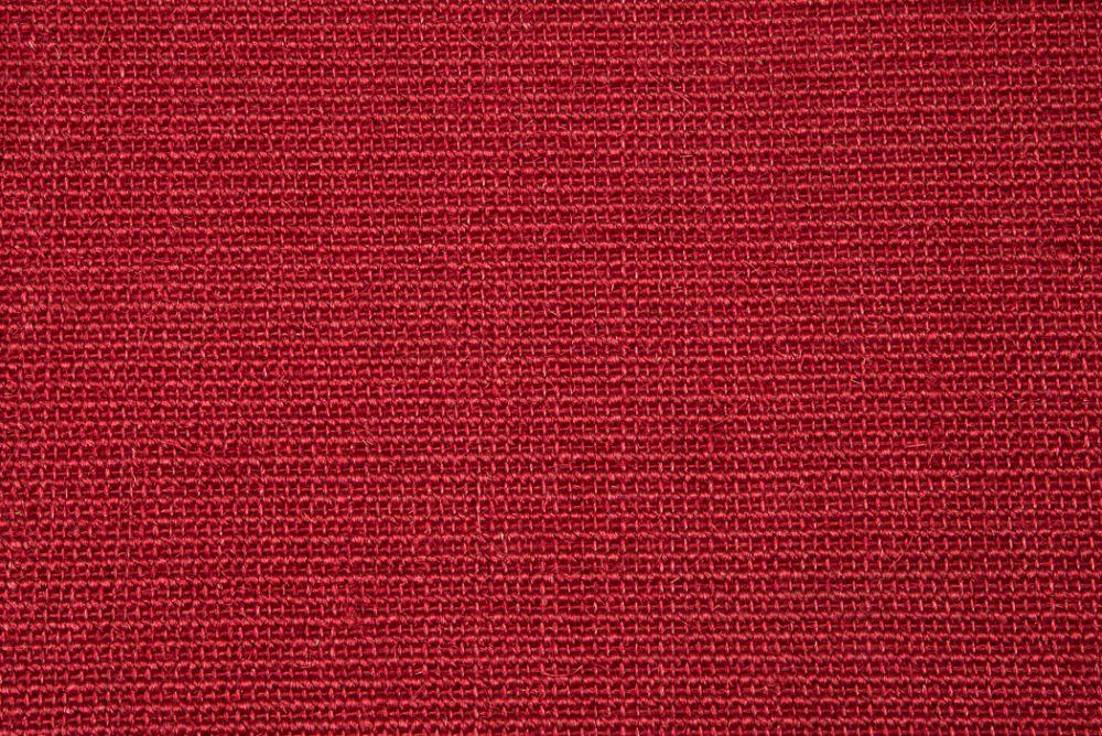 Sisal top Bouclé rød