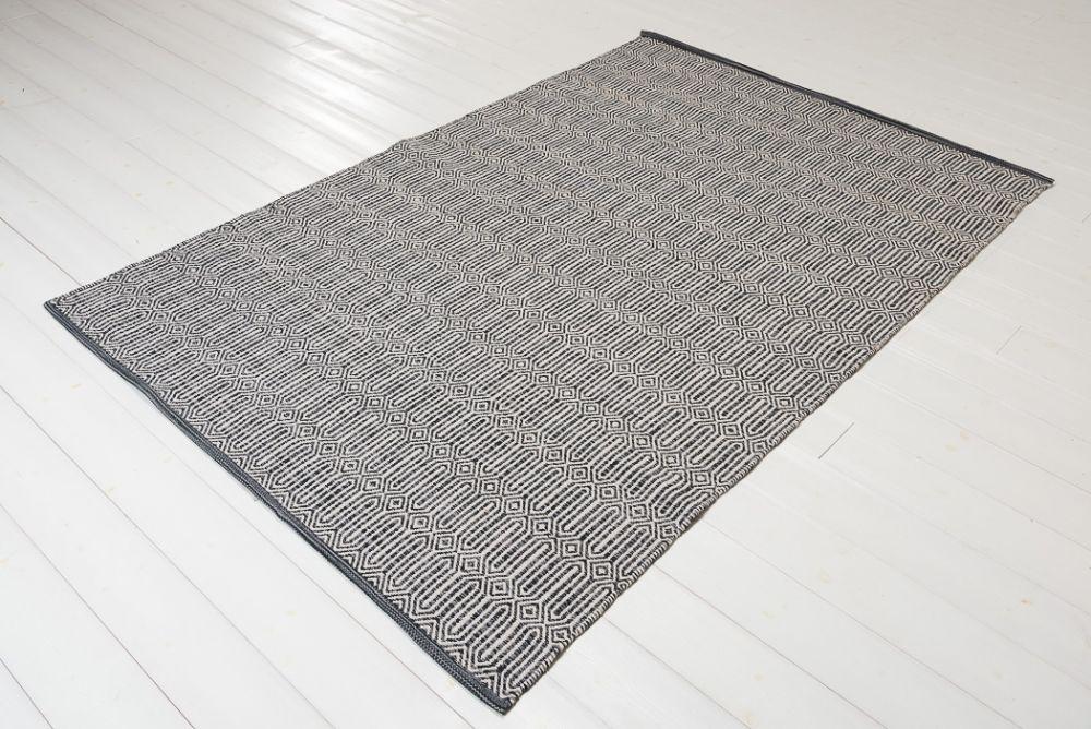 Bena blå/grå 160x230