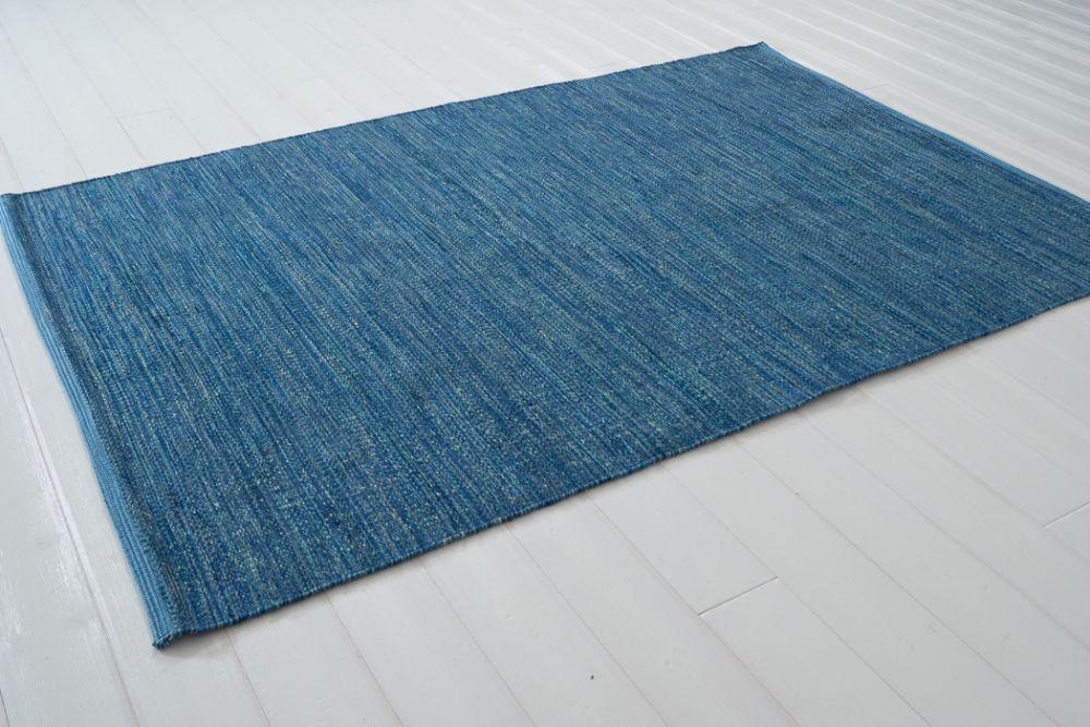 Sindra blå  140x200