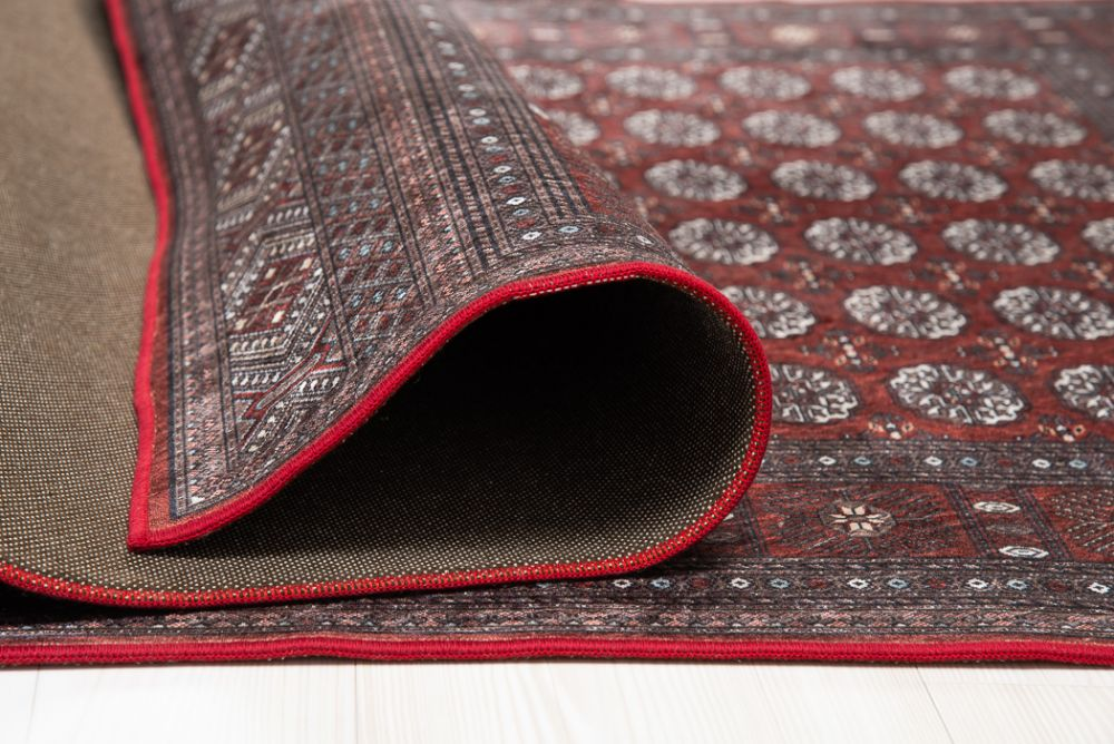 New Bokhara Silk Red 133x190